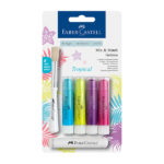 Faber-Castell-Gelato-Water-soluble-Crayons-Tropical