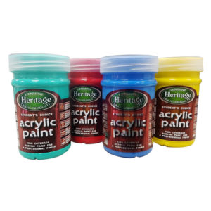 Heritage-Student-Acrylic-Paint-250ml-Various-Colours