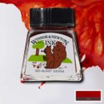 Ink-14ml-Burnt-Sienna-Winsor-&-Newton