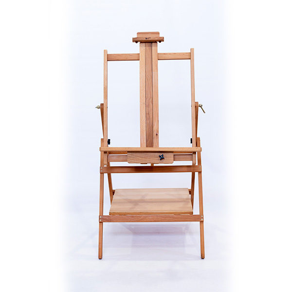 Studio-Multi-Media-Beech-Oiled-Easel-Front-View