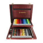 Stabilo-CarbOthello-Chalk-Pastel-60-Color-Wooden-Case-Set-Opened