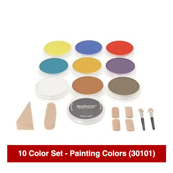 PanPastel-Ultra-Soft-Artists-Painting-Pastels-10-Color-Painting-Colors-set-30101
