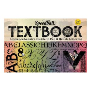 Speedball-Textbook-24th-Edition-Calligraphy-Instruction-Book-Cover