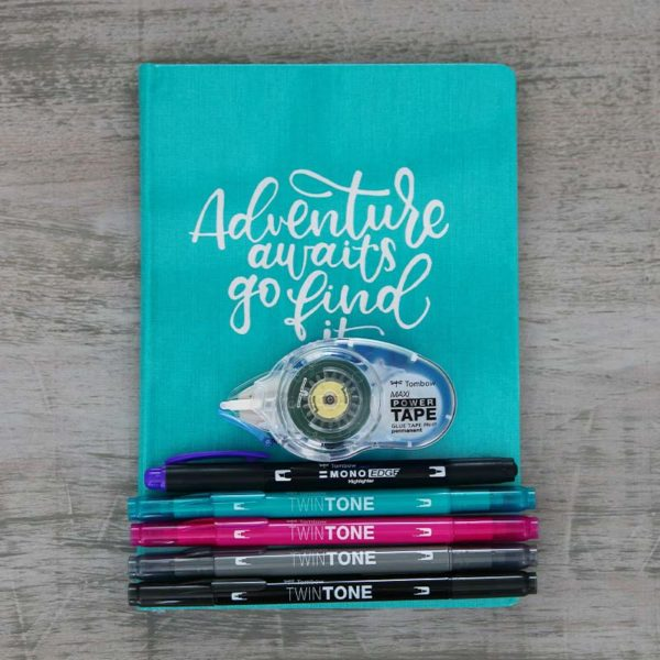 Tombow Travel Journal Set contents