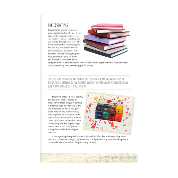 Walter-Foster-Anywhere-Anytime-Art-Watercolor-Book-Inner-Page-02
