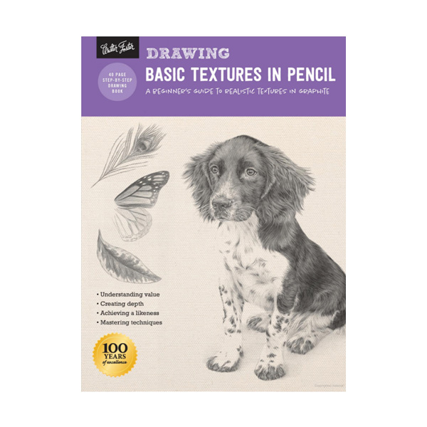 Walter-Foster-How-to-Draw-Basic-Textures-in-Pencil-Book-Cover-Page