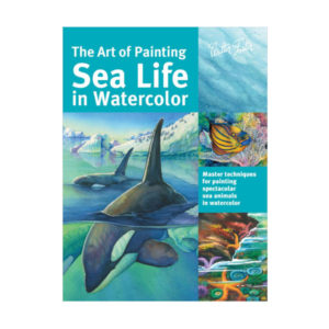 Walter-Foster-The-Art-of-Painting-Sea-Life-in-Watercolor-Book-Cover-Page