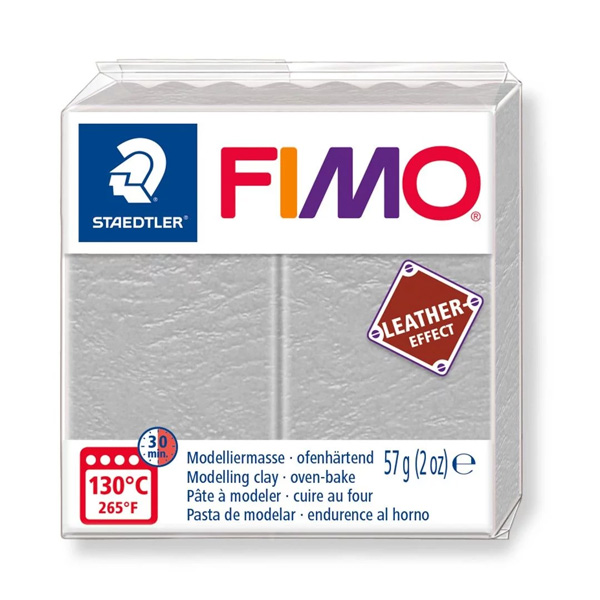 Fimo-57g-Leather-Effect-Dove-Grey-colour