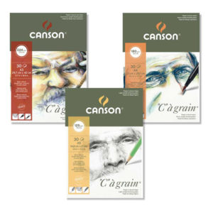 Canson-C-a-Grain-Sketch-Pads-in-various-weight